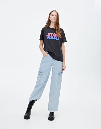 Ombré STAR WARS logo T-shirt