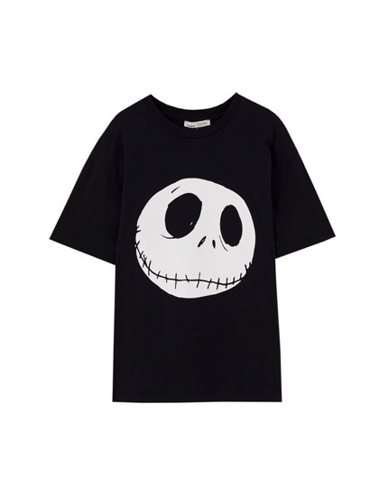 T-shirt with Jack Skellington illustration