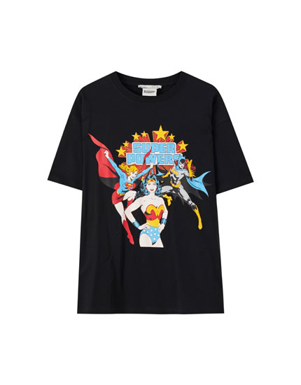 Black Wonder Woman T-shirt