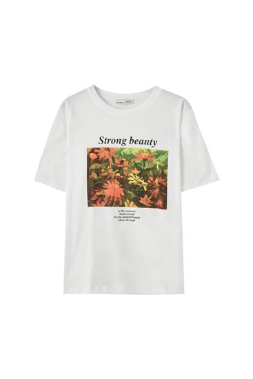 "Floral ""Natural Beauty"" T-shirt"