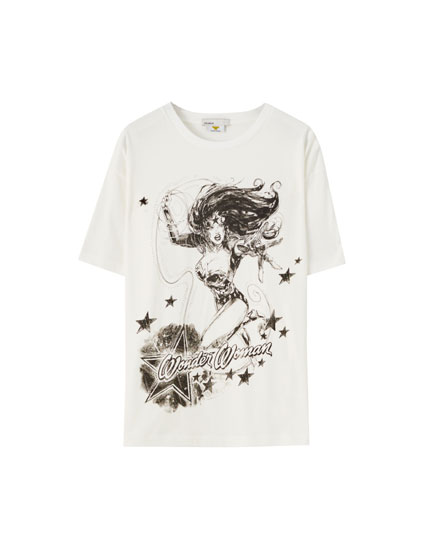 Camiseta blanca Wonder Woman