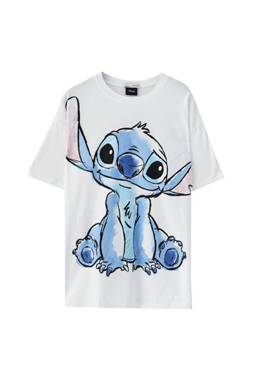 T-shirt illustration Stitch grand