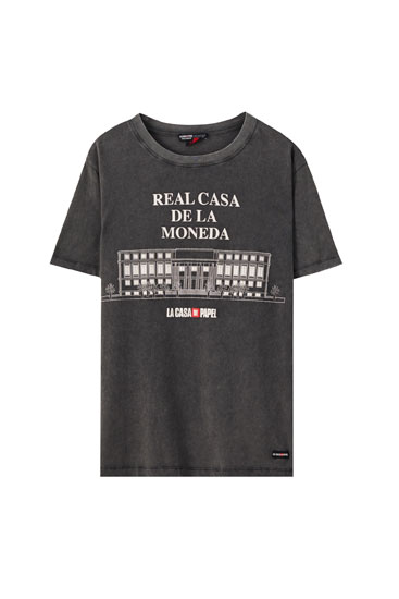 Money Heist x Pull&Bear Royal Mint T-shirt