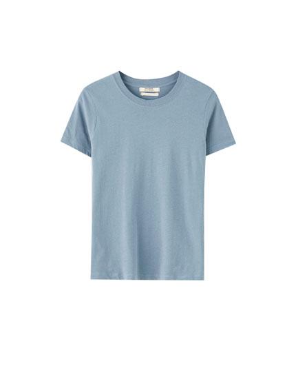 Camiseta manga corta básica