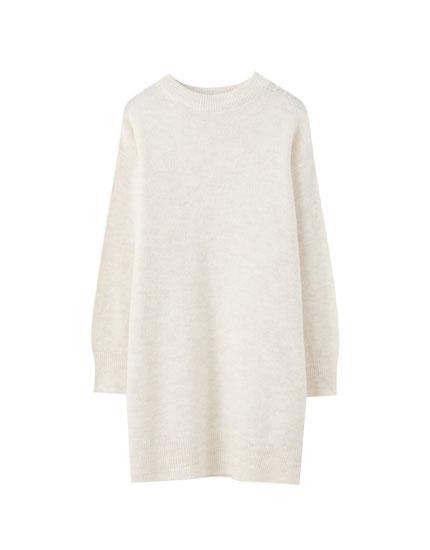 Longline basic sweater