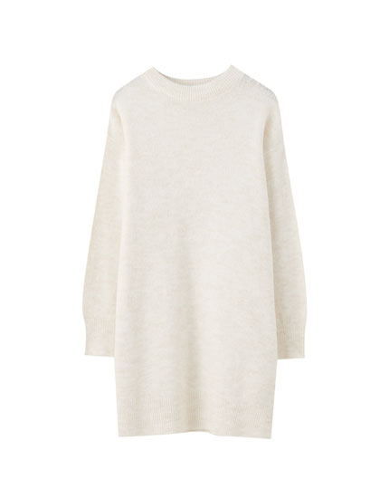 Longline basic sweater