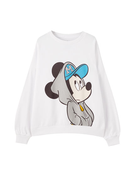 Sweat Mickey Mouse blanc