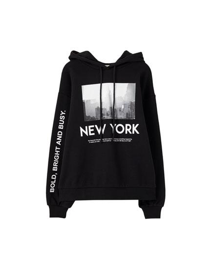 Sudadera New York city.
