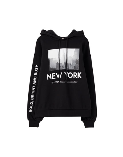 'New York city' sweatshirt