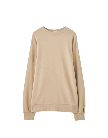 Basic faded sweatshirt
