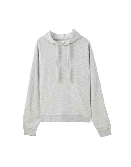 Basic relaxed fit hoodie