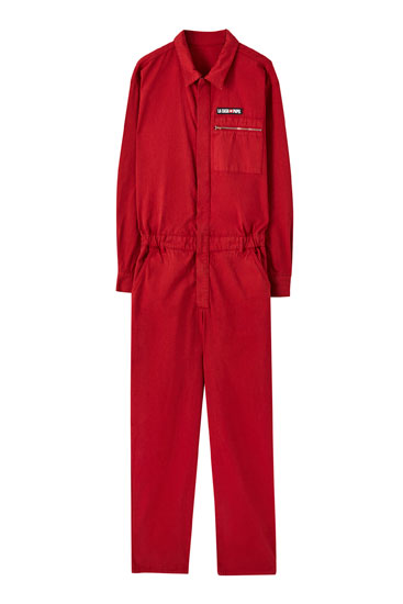 Money Heist x Pull&Bear Jumpsuit