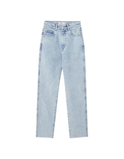 Slim comfort fit mom jeans