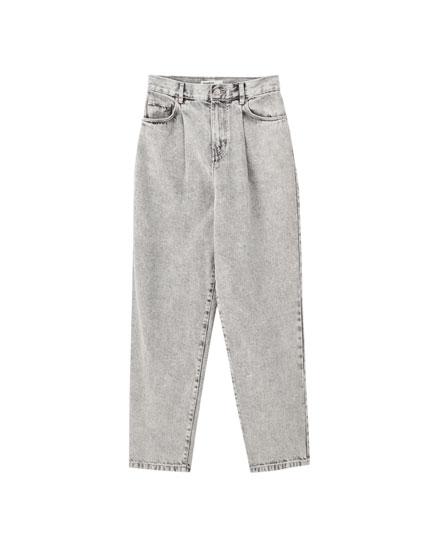 Jeans básicos algodón color