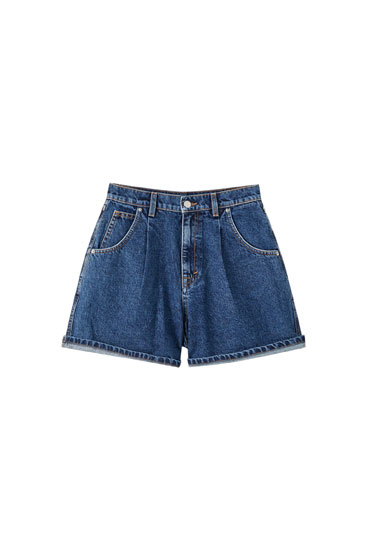 Jeansshorts im Loose-Fit
