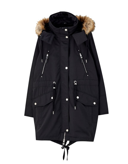 Long 3 in 1 parka