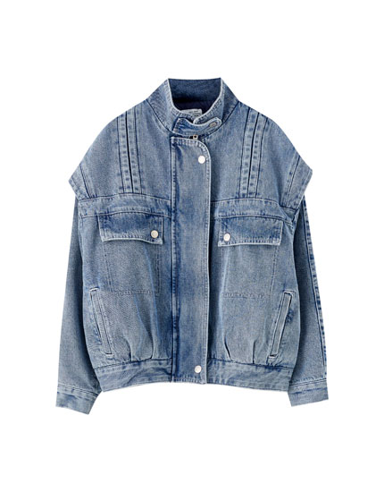 80's denim jacket