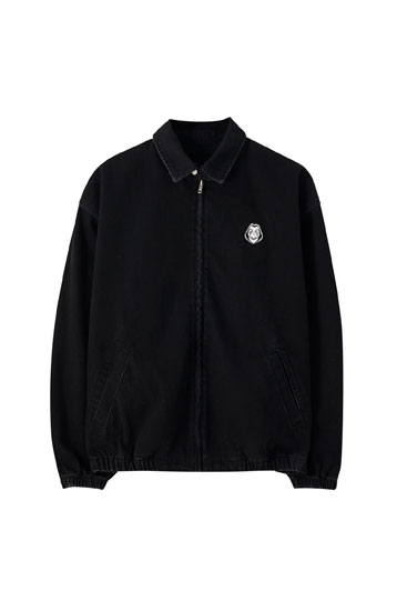 Money Heist x Pull&Bear bomber jacket