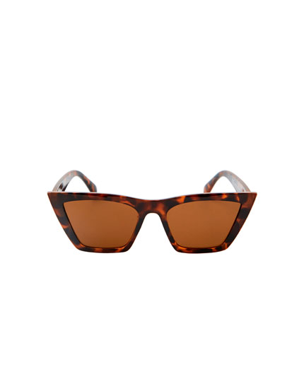Gafas cat eye montura estrecha