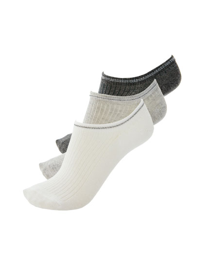 Pack of 3 pairs of ankle socks