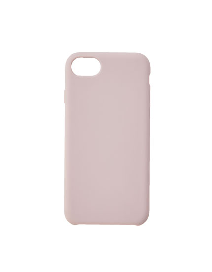 Plain matte smartphone case