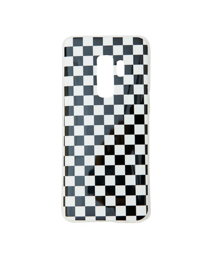 Checked Samsung case