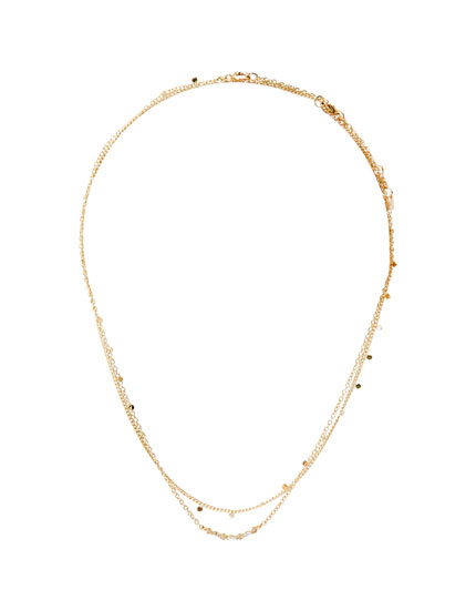 2-pack of shiny necklaces