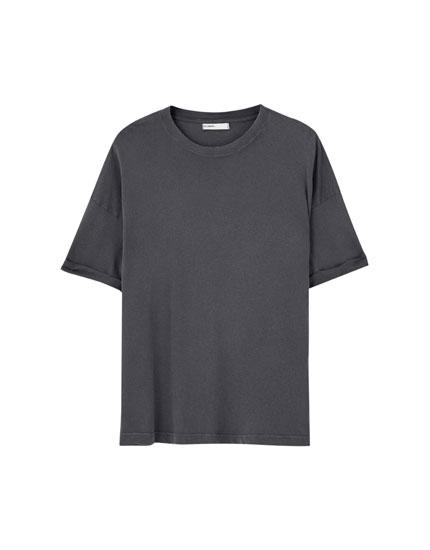 T-shirt basique ample plusieurs couleurs