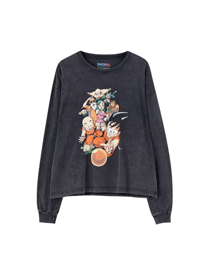 Μπλούζα με ήρωες από το Dragon Ball