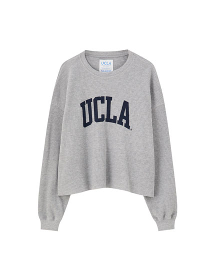 T-shirt UCLA by Pull&Bear gaufré