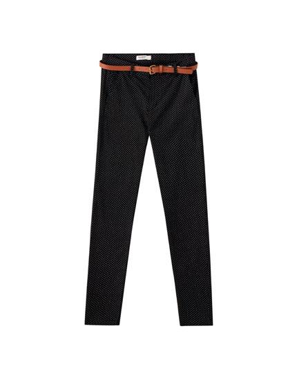 Παντελόνι chino basic χρωματιστό