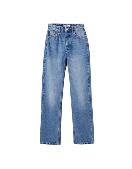 Jeans regular fit cinco bolsillos