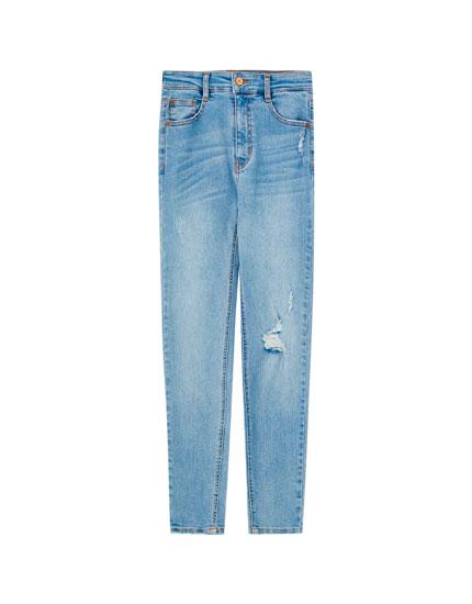Jeans skinny capri