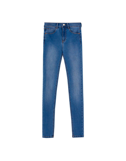 Jeans super skinny fit a vita media
