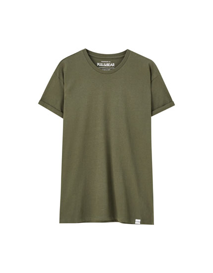 T-shirt basic muscle fit