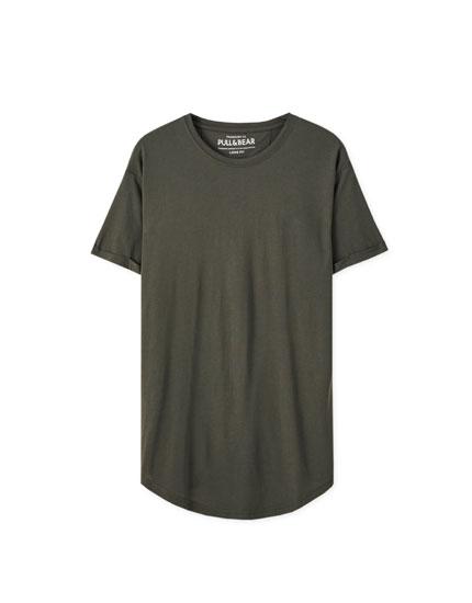 T-shirt long basique