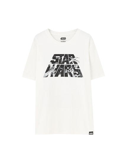 Playera STAR WARS logo