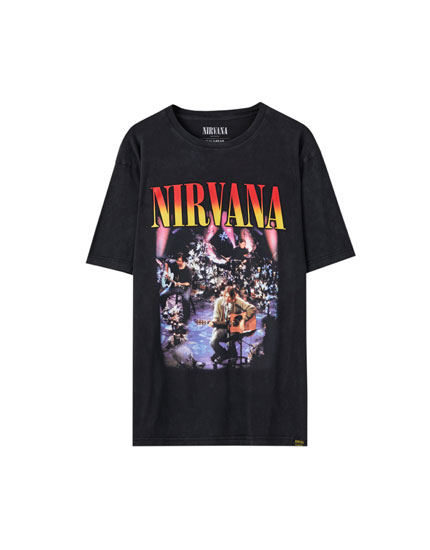 T-shirt Nirvana unplugged