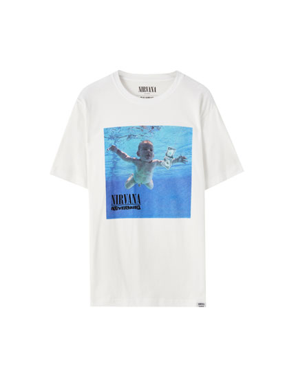 Playera Nirvana nevermind