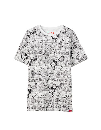 Marvel comic T-shirt
