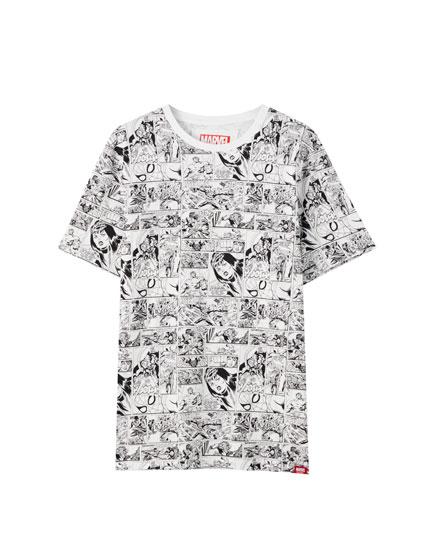 Marvel comic T-shirt
