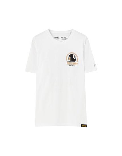 T-shirt MM 93 casque doré