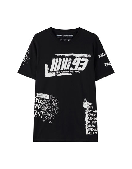 Marc Márquez 93 graffiti T-shirt