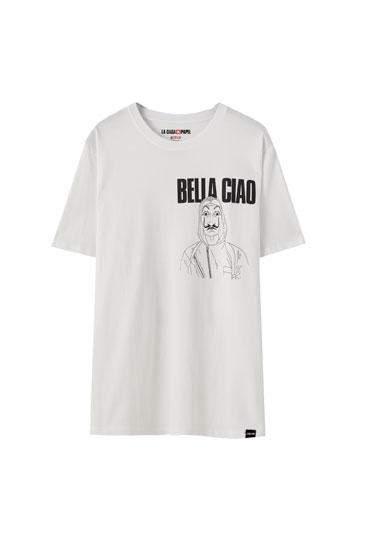 T-shirt La Casa de Papel x Pull&Bear