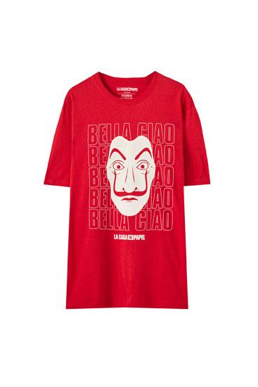 Camiseta La Casa de Papel x Pull&Bear Bella Ciao