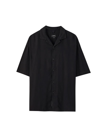 Chemise boutons manches courtes