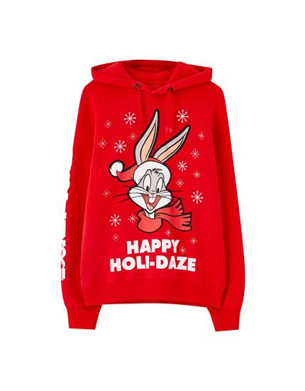 Bugs Bunny 'Holi-Daze' hoodie