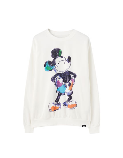 Mickey Mouse picture sweatshirt