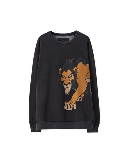 The Lion King 'Scar' sweatshirt