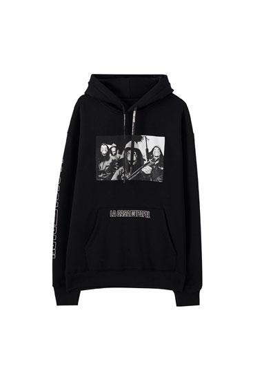Black Money Heist x Pull&Bear Bella Ciao sweatshirt